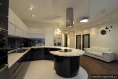 Квартира с островной кухней